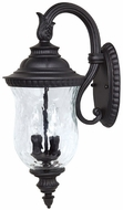 Capital Lighting 9782BK Ashford Traditional Black Exterior Wall Sconce Lighting
