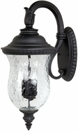 Capital Lighting 9784BK Ashford Traditional Black Exterior Wall Sconce Lighting