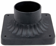 Capital Lighting 9809BK Black Exterior Pier Mount
