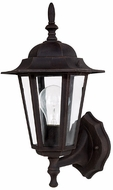 Capital Lighting 9825RU Traditional Rust Exterior Wall Lighting Fixture