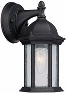 Capital Lighting 9831BK Main Street Traditional Black Exterior Wall Lamp