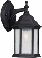 Capital Lighting 9832BK Main Street Traditional Black Exterior Sconce Lighting