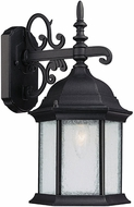 Capital Lighting 9833BK Main Street Traditional Black Exterior Lighting Sconce