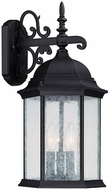 Capital Lighting 9834BK Main Street Traditional Black Exterior Wall Sconce Lighting