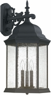Capital Lighting 9838BK Main Street Traditional Black Exterior Wall Sconce Lighting