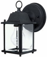 Capital Lighting 9850BK Black Exterior Wall Light Sconce