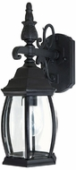Capital Lighting 9866BK French Country Traditional Black Exterior Wall Sconce