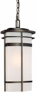 Capital Lighting 9885OB Lakeshore Contemporary Old Bronze Exterior Hanging Pendant Lighting
