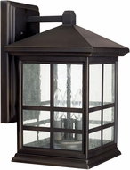 Capital Lighting 9912OB Preston Old Bronze Exterior Wall Sconce