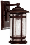 Capital Lighting 9951BB Mission Hills Burnished Bronze Outdoor Wall Lighting Sconce