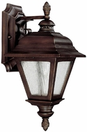 Capital Lighting 9961BB Brookwood Traditional Burnished Bronze Outdoor Wall Light Sconce
