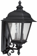 Capital Lighting 9962BK Brookwood Traditional Black Exterior Wall Sconce Light