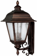 Capital Lighting 9963BB Brookwood Traditional Burnished Bronze Outdoor Wall Sconce