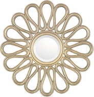 Capital Lighting M292983 Brushed Gold Wall Mounted Mirror