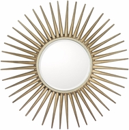 Capital Lighting M343478 Brushed Silver Wall Mounted Mirror