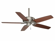 Casablanca 54021 Concentra 54 Inch Span Brushed Nickel Ceiling Fan With Walnut Blades