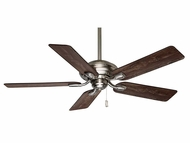 Casablanca 54038 Utopian Brushed Nickel Finish Transitional Pull Chain Home Ceiling Fan