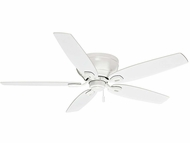 Casablanca 54103 Durant Snow White Finish Ceiling Fan - 54  Wide