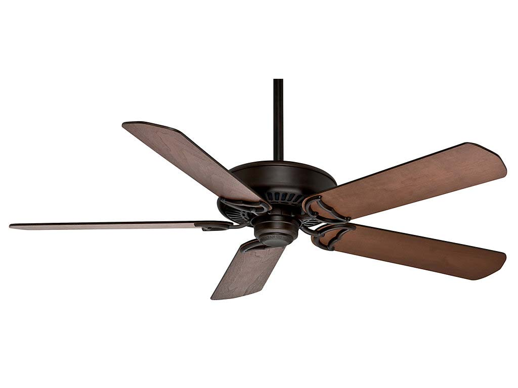 Control Ceiling Fan : Casablanca panama damp rated brushed cocoa speed