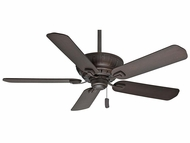 Casablanca 55055 Coletti Brushed Cocoa Finish Home Ceiling Fan - 60  Wide