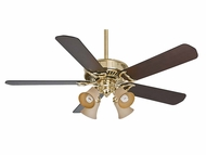 Casablanca 55061 Panama� Gallery Bright Brass Finish 54  Wide Ceiling Fan