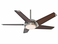 Casablanca 59090 Stealth� Modern Brushed Nickel Finish Home Ceiling Fan - 54  Wide