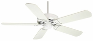 Casablanca 59097 Panama� XLP Control Snow White Finish Ceiling Fan - 58  Wide