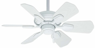 Casablanca 59523 Wailea Snow White Finish 31  Wide Ceiling Fan