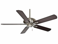 Casablanca 59534 Holliston� Brushed Nickel Finish Ceiling Fan - 60  Wide