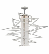 Corbett 185-44 Tantrum Contemporary White Finish 43  Tall LED Extra Large Hanging Lamp