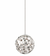 Corbett 187-41 Fathom Contemporary White Finish 19  Tall LED Small Hanging Pendant Light