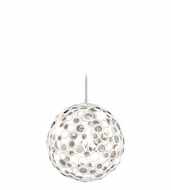 Corbett 187-42 Fathom Modern White Finish 23  Wide LED Medium Pendant Hanging Light