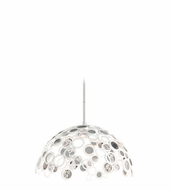 Corbett 187-45 Fathom Contemporary White Finish 17.5  Tall Drop Ceiling Lighting
