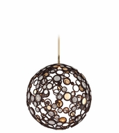 Corbett 188-42 Fathom Contemporary Bronze Finish 24.375  Tall LED Medium Ceiling Pendant Light