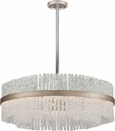 Corbett 204-48 Chime Contemporary Silver Leaf Large Lighting Pendant