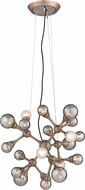 Corbett 206-424 Element Modern Vienna Bronze Halogen Small Pendant Light Fixture