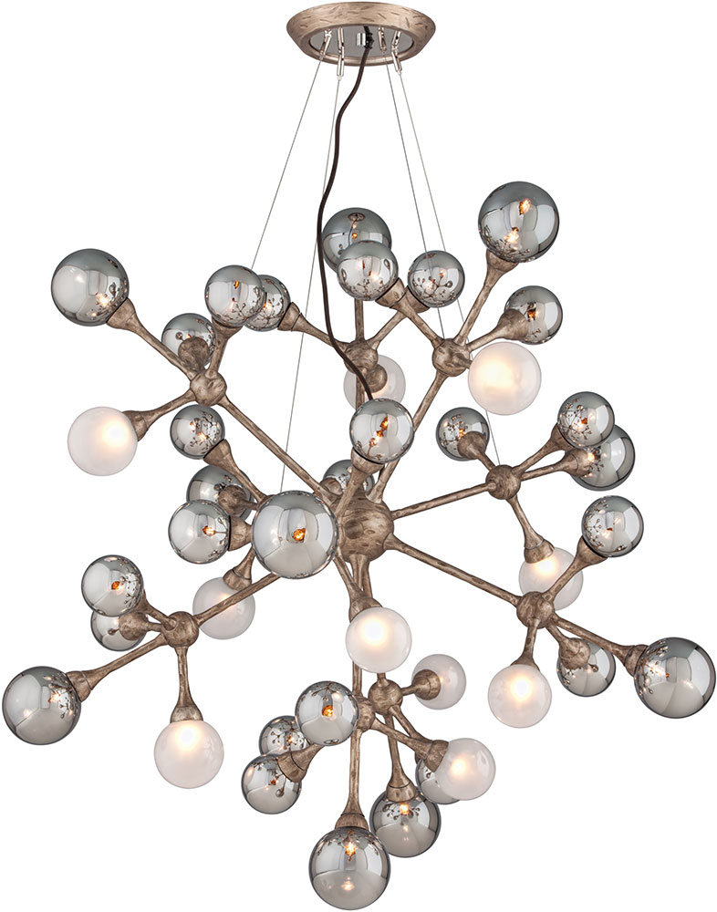 Corbett 206 440 Element Modern Vienna Bronze Halogen Large Hanging Pendant Lighting Loading Zoom