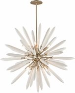 Corbett 217-48 Altitude Contemporary Modern Silver Leaf 46  Hanging Light Fixture