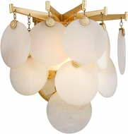 Corbett 228-11 Serenity Contemporary Gold Leaf LED Wall Lighting Fixture