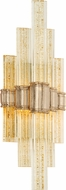 Corbett 235-11 Voila Contemporary Gold Leaf LED Lighting Sconce