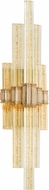 Corbett 235-12 Voila Modern Gold Leaf LED Lamp Sconce