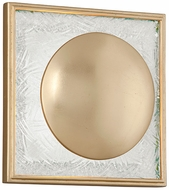 Corbett 247-11 Trance Contemporary Gold Leaf LED Wall Mounted Lamp