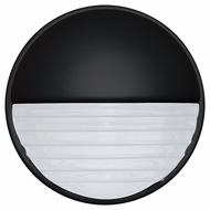 Costaluz 301957-FR 3019 Series Contemporary Black Frosted Outdoor Wall Lighting