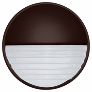Costaluz 301998-FR 3019 Series Modern Bronze Frosted Exterior Sconce Lighting