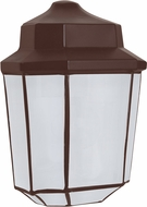 Costaluz 302898-FR 3028 Series Contemporary Bronze Frosted Outdoor Lamp Sconce