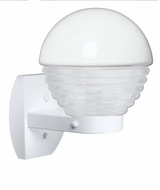 Costaluz 306153-WALL-FR 3061 Series Contemporary White Frosted Outdoor Wall Light Fixture