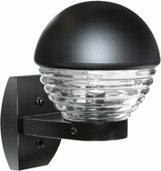 Costaluz 306157-WALL 3061 Series Modern Black Exterior Lighting Wall Sconce