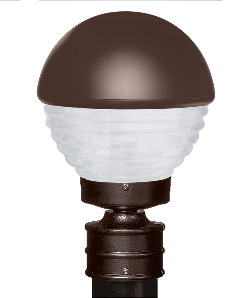 Costaluz 306198 post fr 3061 series contemporary bronze for Modern exterior lighting fixtures