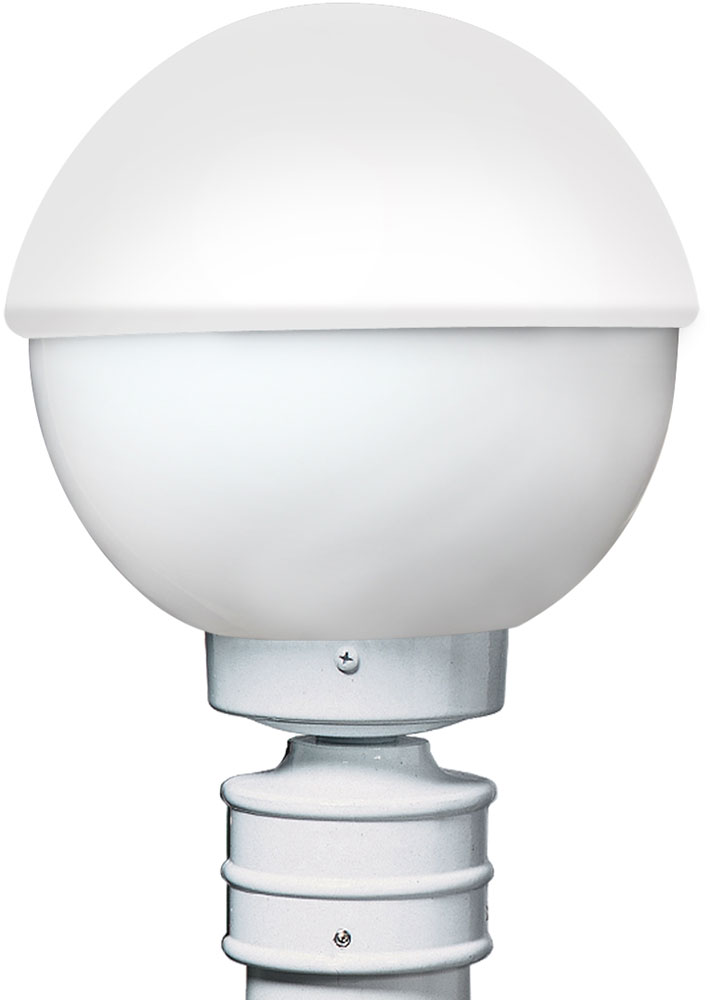 Costaluz 307807 post 3078 series contemporary white for Contemporary outdoor post light fixtures