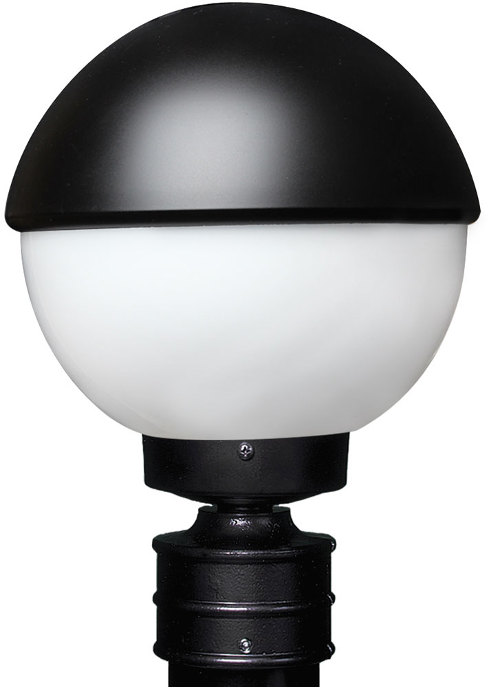 Costaluz 307855 post 3078 series contemporary black for Contemporary outdoor post light fixtures